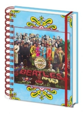 Beatles - Beatles (Sergeant Pepper's Lonely Hearts) A5 Wiro Notebook CDU 10