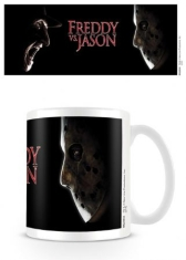 Mug - Freddy vs Jason (Face Off) Mug