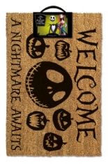Door Mat - Nightmare Before Christmas (A Nightmare Awaits) Door Mat
