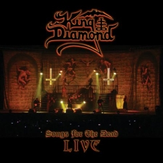 King Diamond - Songs From The Dead Live (2LP Ltd Bengans Clear Ash Grey Marbled)