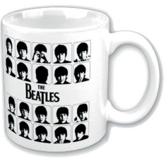The beatles - THE BEATLES BOXED STANDARD MUG: HARD DAYS NIGHT GRAPHIC