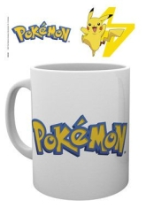 Pokemon - Logo And Pikachu - Mug