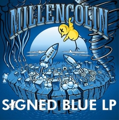 Millencolin - Sos (Blue Vinyl) - Signed LP