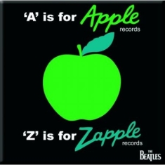 The beatles - THE BEATLES FRIDGE MAGNET: A IS FOR APPLE