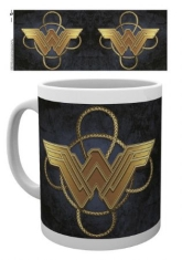 Wonder Woman - Wonder Woman Gold Logo Mug