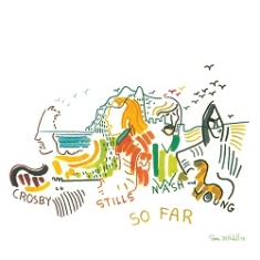 Crosby, Stills, Nash and Young - So far -White Vinyl
