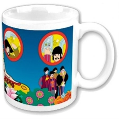 The beatles - THE BEATLES BOXED STANDARD MUG: YELLOW SUBMARINE PORTHOLES