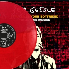 Per Gessle - I wanna be your boyfriend tribute to the Ramones clear red vinyl