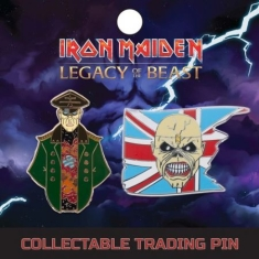 Iron Maiden - Lapel Pin Set 1: Trooper And General