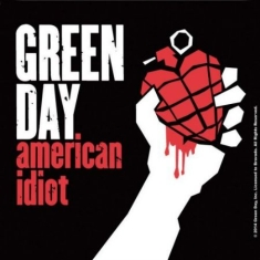 Green Day - American Idiot - Single Cork Coaster