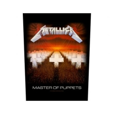 Metallica - Master of Puppets - Back Patch