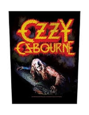 Ozzy Osbourne - Bark at the moon - Back patch i gruppen Minishops / Ozzy Osbourne hos Bengans Skivbutik AB (3655648)
