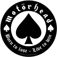 Motorhead - Born To Lose -Back Patch