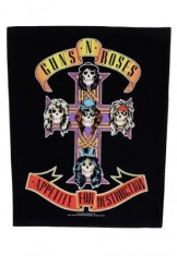 Guns N' Roses - Appetite for destruction - back patch