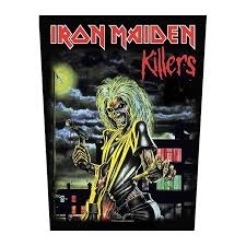Iron Maiden - Killers - back patch