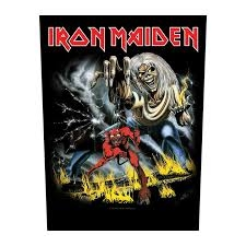 Iron Maiden - Number of the Beast - back Patch
