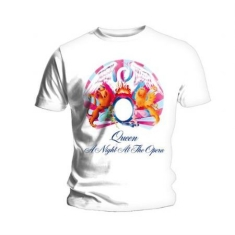 Queen - QUEEN UNISEX TEE: A NIGHT AT THE OPERA