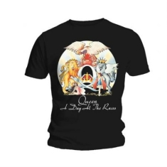 Queen - QUEEN UNISEX TEE: A DAY AT THE RACES