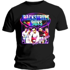 Backstreet Boys - BACKSTREET BOYS UNISEX TEE: LARGER THAN LIFE