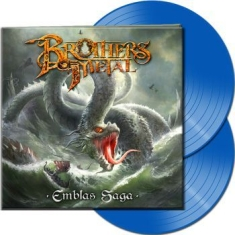 Brothers Of Metal - Emblas Saga (2 Lp Blue Vinyl Gatefo