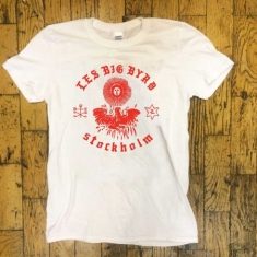Les Big Byrd - T-shirt Stockholm, white