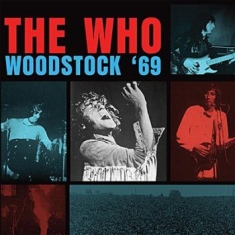 Who - Woodstock '69 (3 Sided Col.Vinyl)