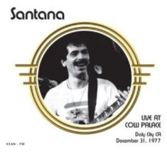 Santana - Live At Cow Palace, Daly City Ca 77