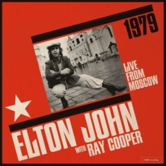 Elton John, Ray Cooper - Live From Moskow 1979 (2Cd)