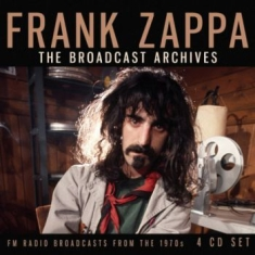 Frank Zappa - Broadcast Archives The (4 Cd Live B