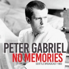 Gabriel Peter - No Memories (Live Broadcast 1983)