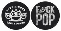 Five Finger Death Punch - Knuckle / Fuck Pop slipmats