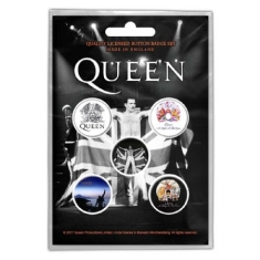 Queen - QUEEN BUTTON BADGE PACK: FREDDIE