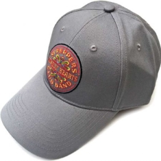 The beatles - The Beatles Unisex Baseball Cap: Sgt Pepper Drum (Grey)