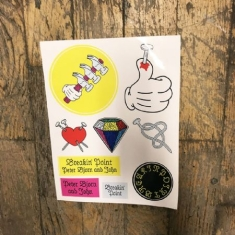 Peter Bjorn And John - Breakin' Point, stickers set
