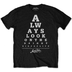Monty Python - Monty Python Unisex Tee: Bright Side Eye Test