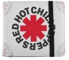 Red Hot Chili Peppers - WHITE ASTERIX - WALLET
