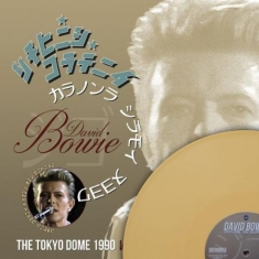 David Bowie - THE TOKYO DOME 1990 VOLUME ONE, Limited Edition Coloured Vinyl