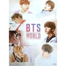 BTS - BTS WORLD - Poster