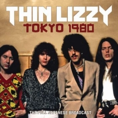 Thin Lizzy - Tokyo 1980 (Live Broadcast 1980)