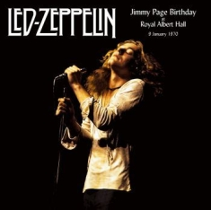 Led Zeppelin - Jimmy Page Birthday Albert Hall '70