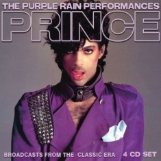 Prince - Purple Rain Performance The (4 Cd L
