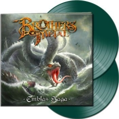 Brothers Of Metal - Emblas Saga (2 Lp Green Vinyl Gatef