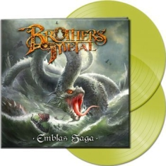 Brothers Of Metal - Emblas Saga (2 Lp Clear Yellow Viny