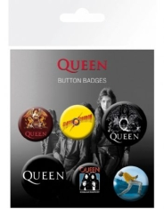 Queen - Mix Badge Pack