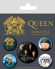 Queen - Badge Pack