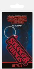 Stranger Things - Stranger Things (Logo) Rubber Keychain