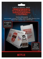 Stranger Things - Tech Sticker Pack