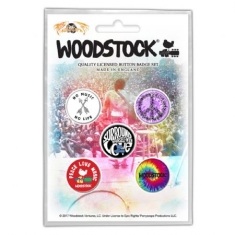 Woodstock - Button Badge Pack: Surround Yourself