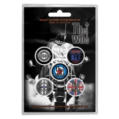 Who - Button Badge Pack: Quadrophenia