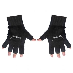 Metallica - Fingerless Gloves: Logo